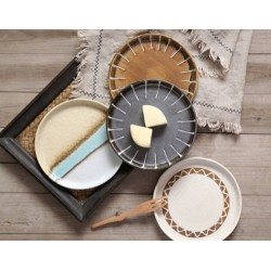 Porcelain Round Flat Plate