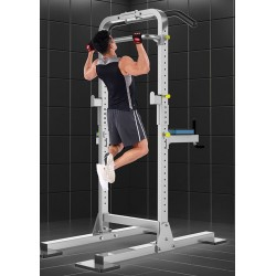 Smith Machine Pull-ups home indoor horizontal bar multi-function simple parallel bars squat bench press barbell rack