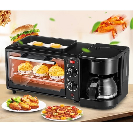 Microwave Oven with Coffee Maker