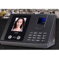 Face recognition punch card machine