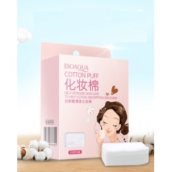 High Quality Cotton Makeup Remover- 100 Pcs
