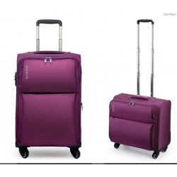 24Inch Luggage Trolley Case Cannon Oxford suitcase password lock