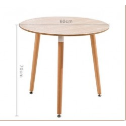 Round  and square table
