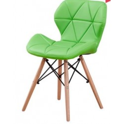 Simple modern chair Leather