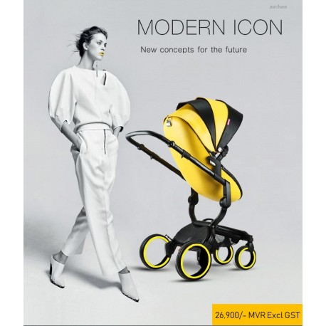 UK Douxbebe high landscape baby stroller baby two-way reclining folding shock absorber imported brand