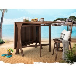Foldable Dining Table Set