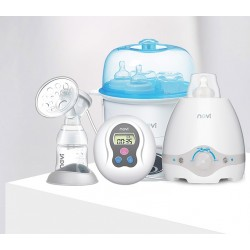 Breast Pump, Milk Bottle Warmer and Disinfection Pot