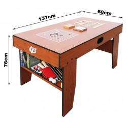 Children's Pool Table Desk Table Tennis Table Chess Backgammon