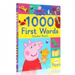 1000 first words Sticker Book