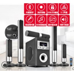 B & A / Bach A3 Home Theater Sound Set Living Room 5.1 Wall TV Speaker Wireless Bluetooth